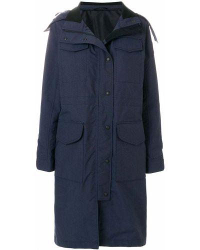 Куртка с капюшоном на пуговицах с карманами Canada Goose