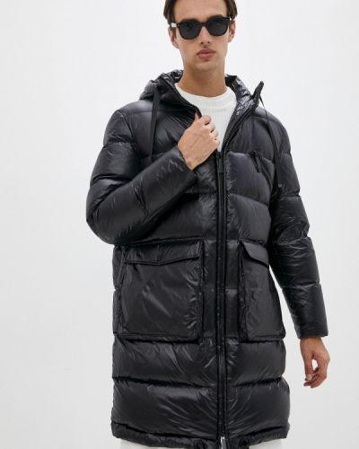 Черная зимняя куртка Trussardi