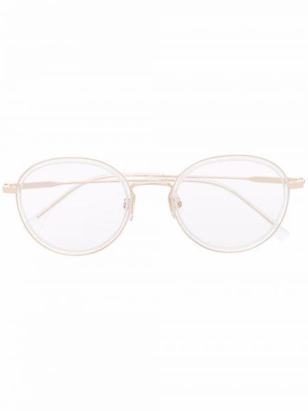 Białe okulary Boss Hugo Boss