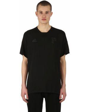 Czarny t-shirt Adidas X Paul Pogba
