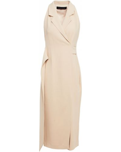 Платье миди - бежевое Roland Mouret