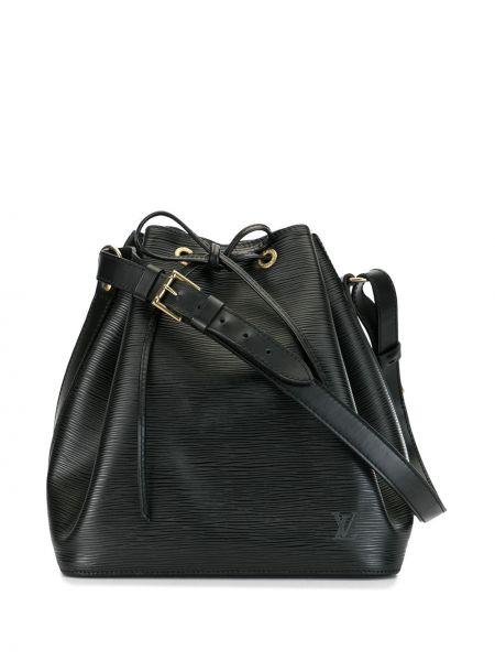 Сумка на плечо черная винтажная Louis Vuitton