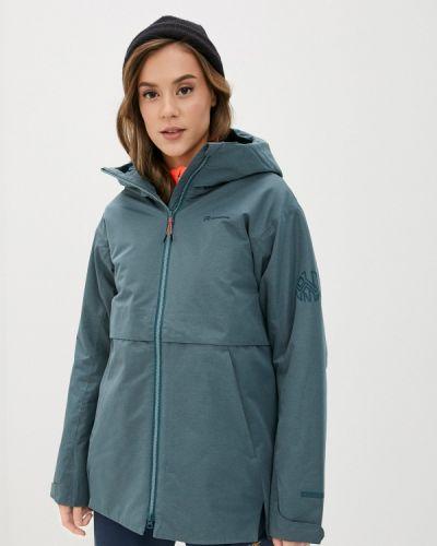 Бирюзовая утепленная куртка Outventure