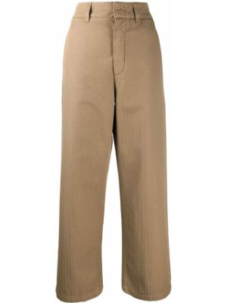 Укороченные брюки расклешенные свободные Department 5