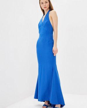 Вечернее платье синее Mirasezar