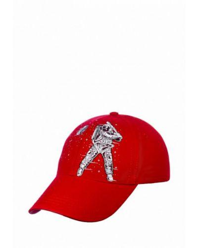 Красная бейсболка Atrics