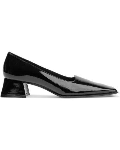 Черные кожаные лодочки на шпильке Miista
