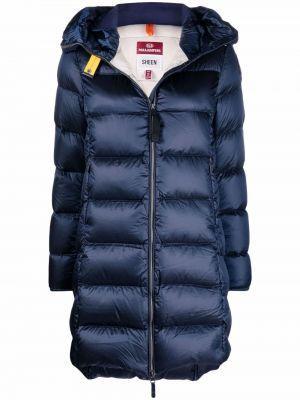 Синее пальто из полиэстера Parajumpers