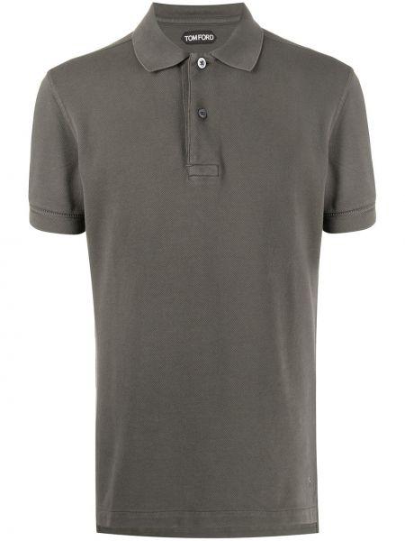 Koszula krótkie z krótkim rękawem klasyczna prosto Tom Ford