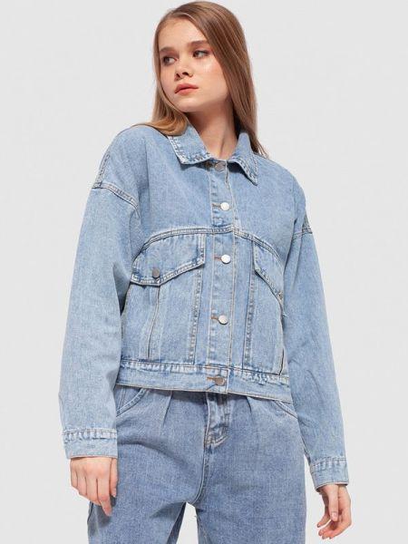 Джинсовая куртка - голубая Dorogobogato