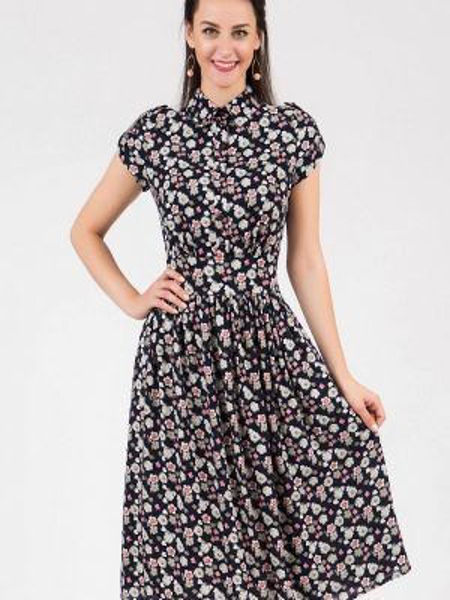 Платье платье-рубашка осеннее Grey Cat