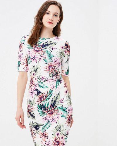 Платье футляр - белое Dorothy Perkins