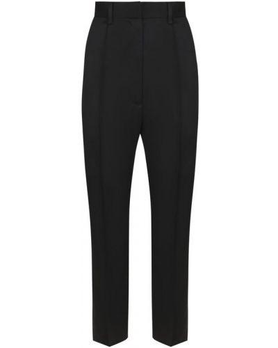 Укороченные брюки со стрелками шерстяные Mm6