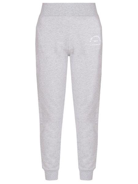 Спортивные брюки укороченные серые Karl Lagerfeld