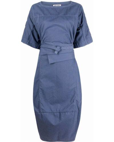 Синее хлопковое платье Henrik Vibskov