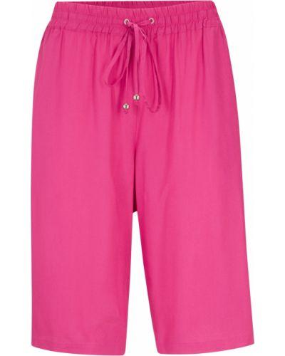 Бермуды - розовые Bonprix