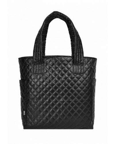 Черная сумка шоппер Cosas
