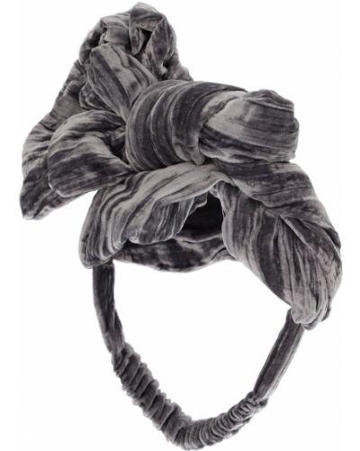Jedwab opaska na głowę na gumce Tia Cibani