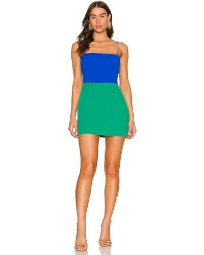 Шелковое платье - зеленое Amanda Uprichard