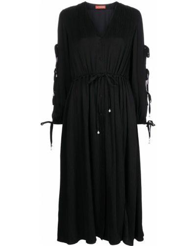 Платье макси длинное - черное Altuzarra