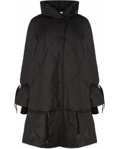 Стеганое пальто на кнопках с воротником Novaya
