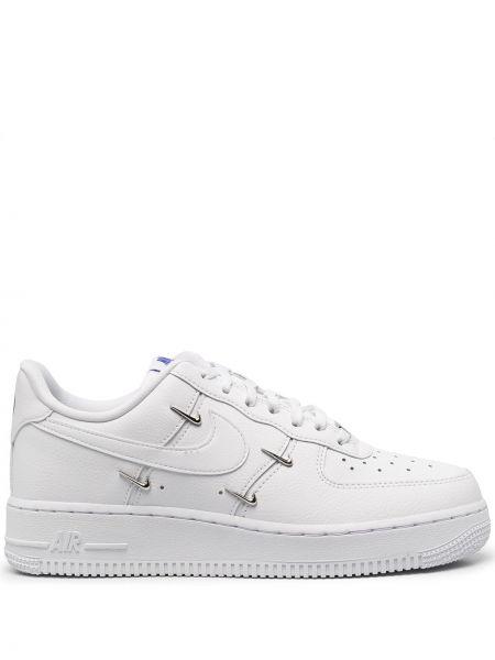 Włókienniczy biały koronkowa top zasznurować Nike