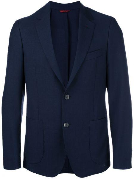 Пиджак шерстяной с карманами Fay