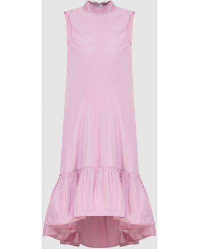 Розовое платье мини Red Valentino