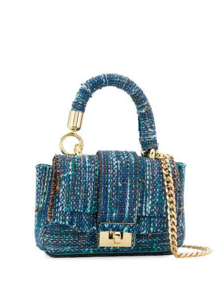 Синяя сумка на цепочке Alila