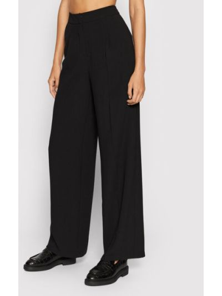 Spodnie materiałowe - czarne Selected Femme