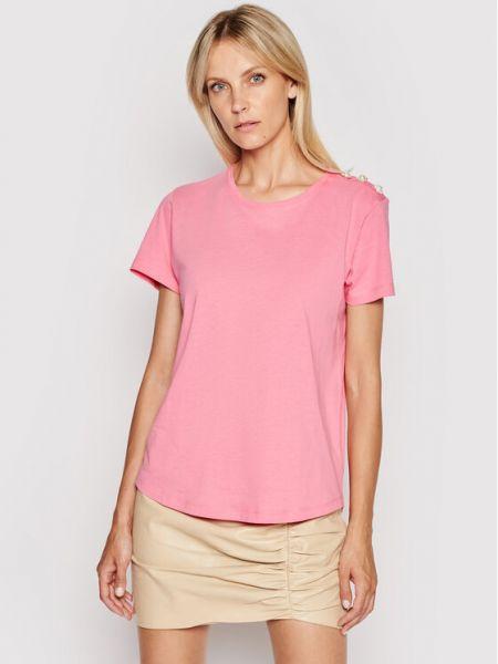 Różowa t-shirt Custommade