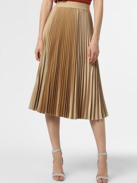 Złota spódnica - żółta Minimum