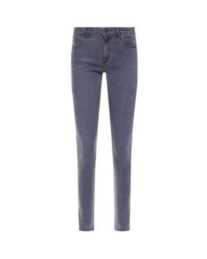 Jeansy slim fit dżinsowa Wrangler