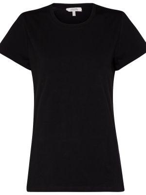 Czarny t-shirt bawełniany Dorothee Schumacher