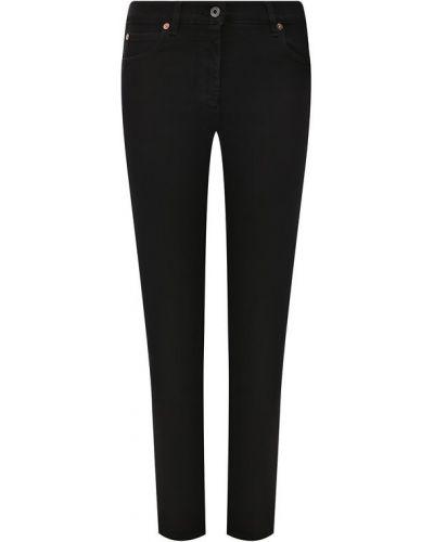 Прямые джинсы черные Valentino