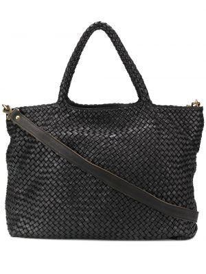 Кожаная сумка - черная Officine Creative