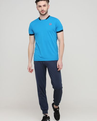 Флисовые спортивные брюки - синие Sergio Tacchini