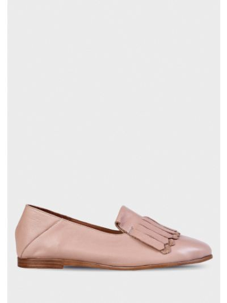 Кожаные туфли - коричневые Inuovo