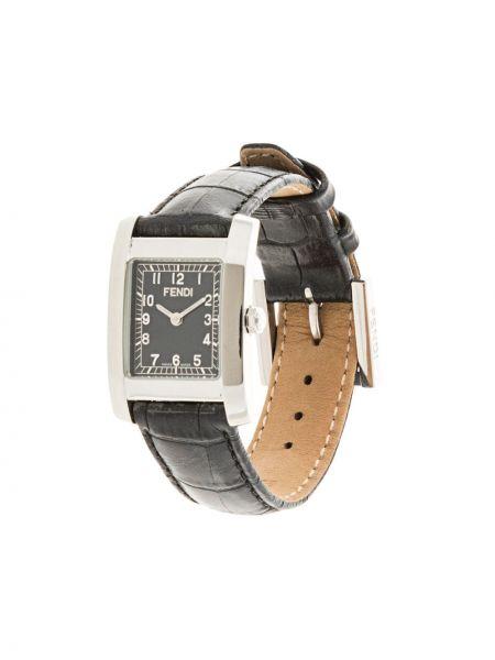 Zegarek plac czarny Fendi Pre-owned