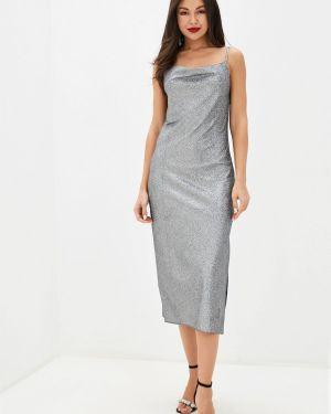 Серебряное вечернее платье Imocean