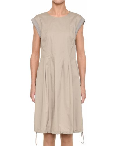 Платье весеннее бежевое Peserico
