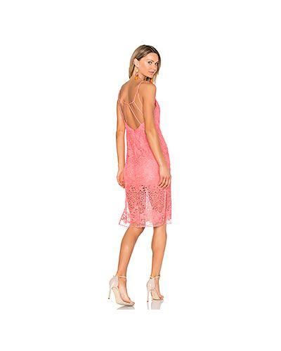 Платье с вышивкой на бретелях Nbd