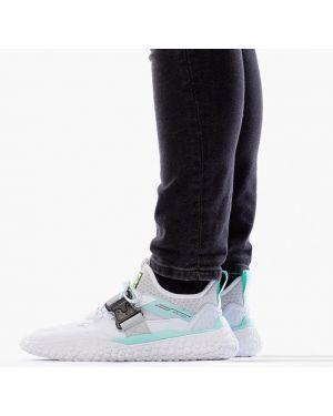 Кожаные белые кроссовки Puma