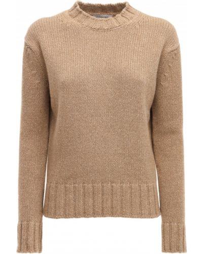 Кашемировый свитер - коричневый Victoria Beckham