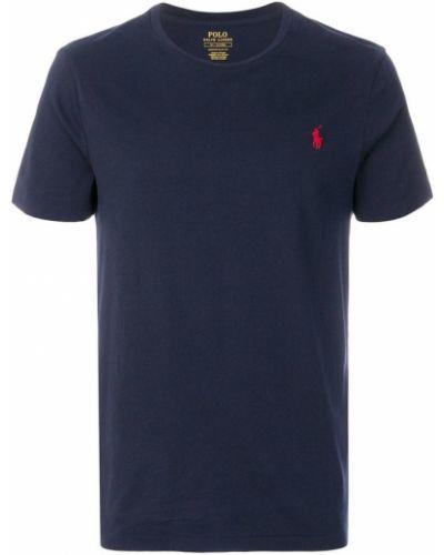 Szara koszula krótki rękaw Ralph Lauren