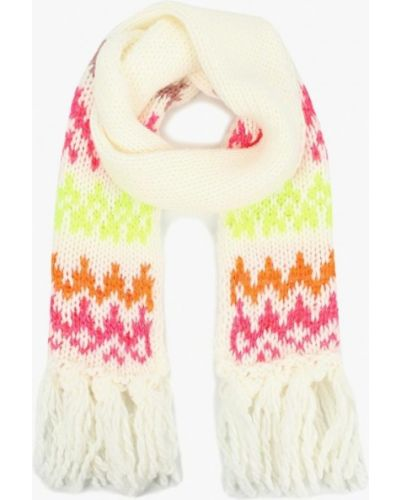 Белый шарф United Colors Of Benetton