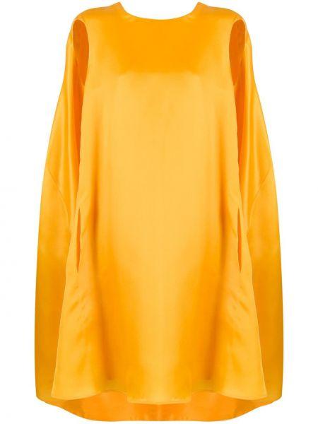 Платье оверсайз с рукавами Nina Ricci