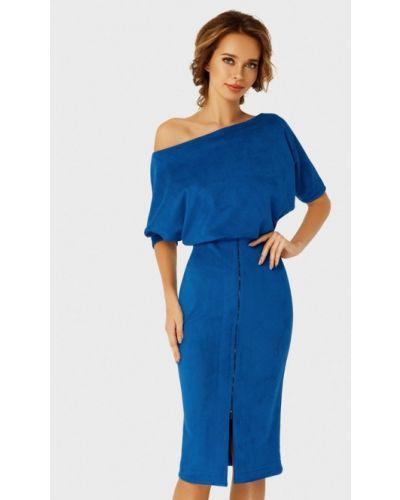Вечернее платье осеннее синее Anushka By Anna Pavlova