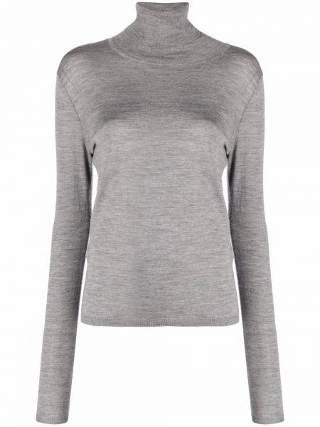 Шерстяной свитер - серый Toteme
