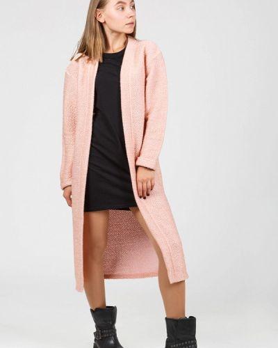 Розовый кардиган Street Style